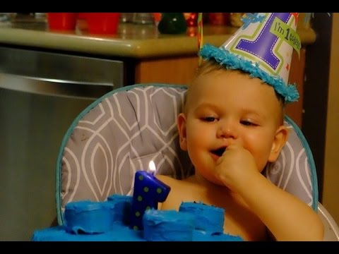 CANYON'S FIRST BIRTHDAY!!!