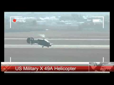 US Military X 49A Helicopter