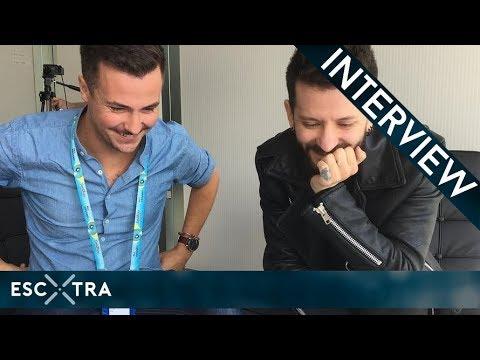 LIVE INTERVIEW: Eugent Bushpepa (Albania 2018) // ESCXTRA.com