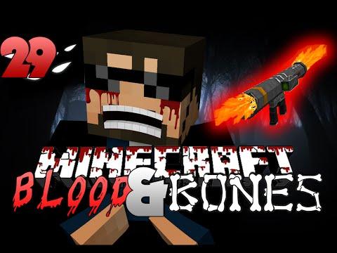 Minecraft FTB Blood and Bones 29 - SPAMR ROCKETS