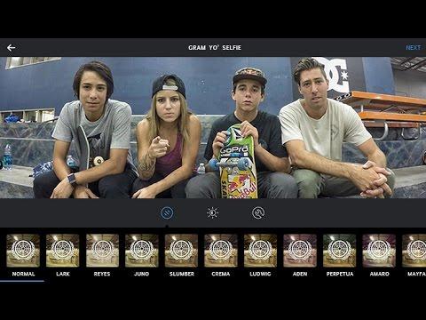 Gram Yo Selfie - Sean Malto, Leticia Bufoni, Mikey Taylor & Alex Midler