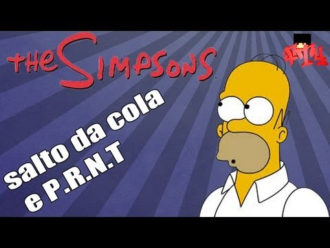 Simpsons hit e hun-Salto da cola,P.R.N.T
