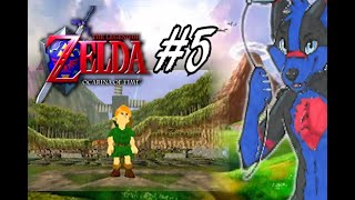 Let's Play Zelda Ocarina of Time Part 5: Things You See in a Graveyard
