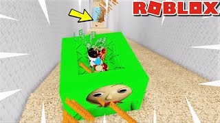 SLIDE DOWN 999,999,999 FT IN BALDI'S SCHOOLHOUSE| Weird Side of Roblox: Baldis Basics RP and OBBY