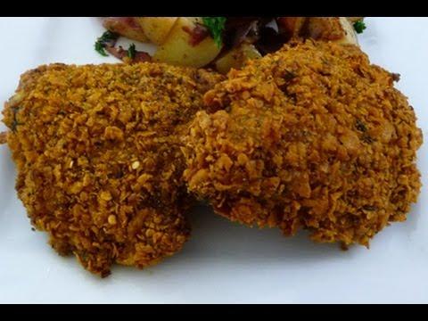 Receta de Pollo Frito en el horno, how to