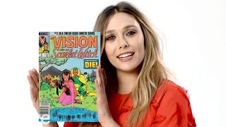 Elizabeth Olsen Explains The Origins Of The Scarlet Witch | Allure