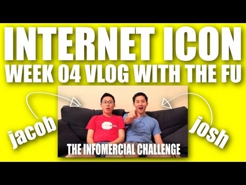 Internet Icon Vlog with The Fu (ft Marlin Chan) - Week 4 The Infomercial Challenge