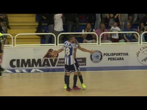 Pescara - Napoli 5-2 Gara 3 highlights