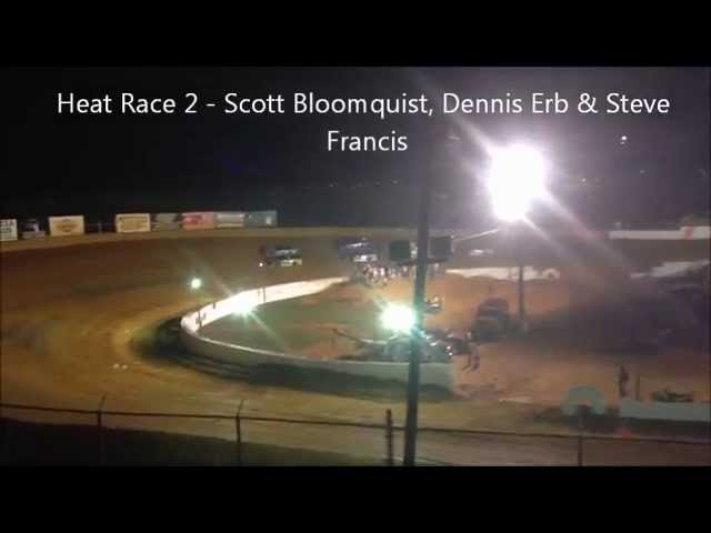 Lucas Oil Late Model Series at Volunteer Speedway - August 2013 Scorcher