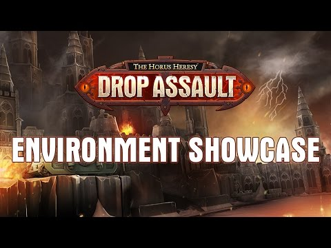 Environment Showcase | The Horus Heresy: Drop Assault | Warhammer 40,000