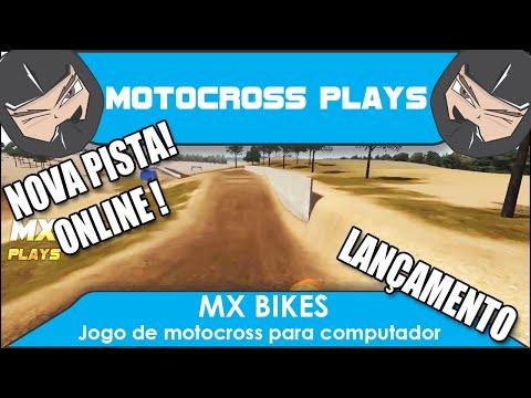 MX BIKES   Jogando online e aprendendo a pilotar