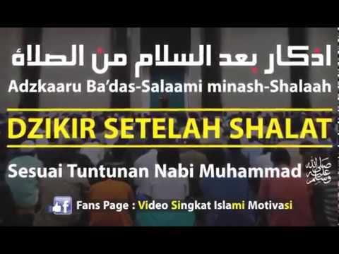 Youtube doa dzikir setelah sholat