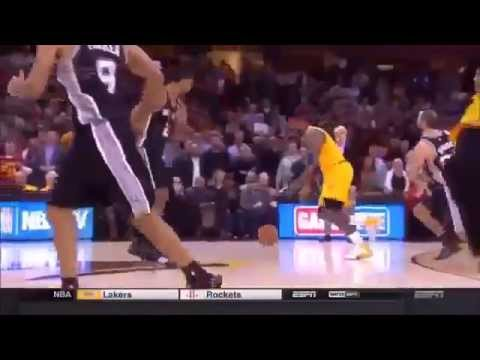 Tim Duncan Game-Winning Steal vs. Cavs, November 19th, 2014