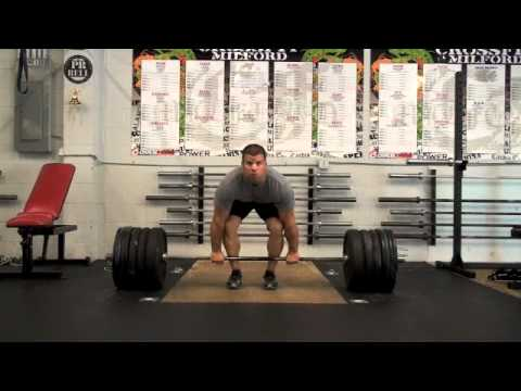 CrossFit - Rob Orlando Power Cleans Singles for WOD 110601 Image 1