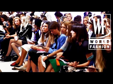 Front Row Michael Van Der Ham Spring-Summer 2015 London Fashion Week