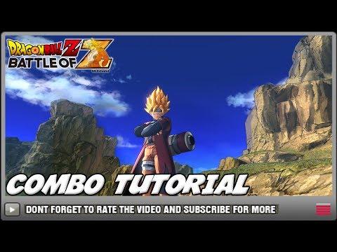 Dragon Ball Z: Battle of Z - Tutorial 【HOW TO DO LONGER COMBOS】