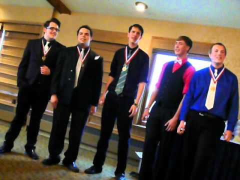 STAY~performed by the Spring Lake Park MN High School Barbershop Quartet