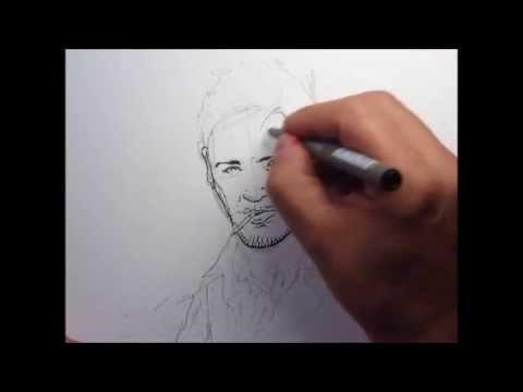 Dessin et mise en couleur d 39 un personnage de bande dessin e youtube - Dessin d un crapaud ...