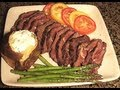 Grilled Hanger Steak (Buffalo)