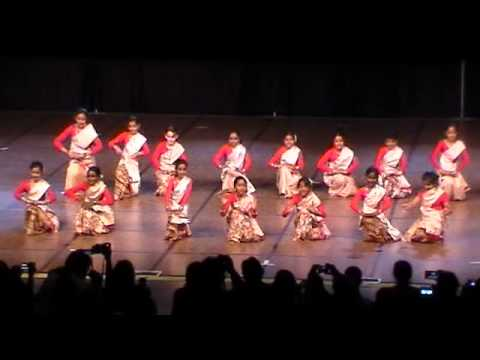 SILC FON - 2012 Childrens Bihu dance