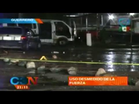 Familiares piden el regreso de los normalistas secuestrados en Iguala, Guerrero