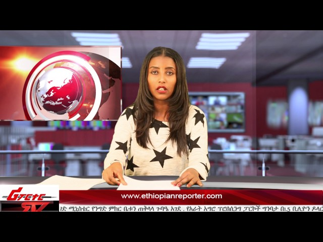 ETHIOPIAN REPORTER TV |  Amharic English News