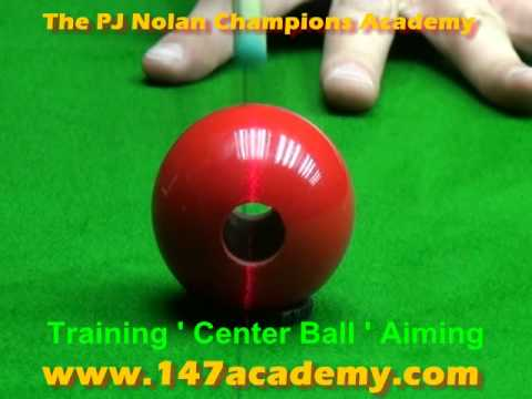 PJ NOLAN ACADEMY OF CHAMPIONS - SNOOKER TRAINING