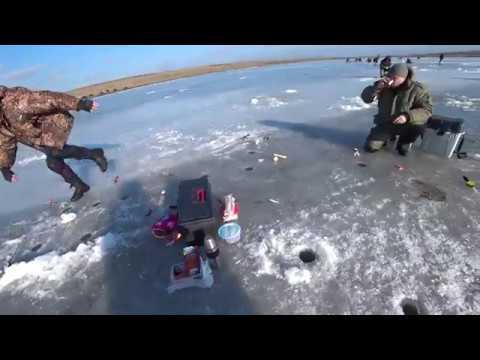 Хитрая зимняя ПЛОТВА и крупный ПЕСКАРЬ. Зимняя рыбалка 2018.
