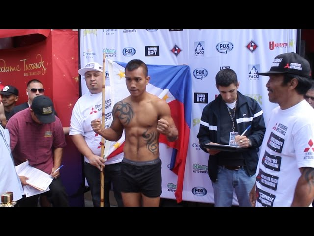 Mercito Gesta / Luis Arceo Weigh-In [Full]