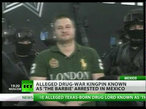 Drug lord Edgar 'La Barbie' Valdez arrested in Mexico Video