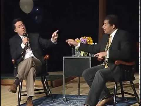 Stephen Colbert interviews Dr. Neil deGrasse Tyson @ Montclair Kimberley Academy on 2010-01-29