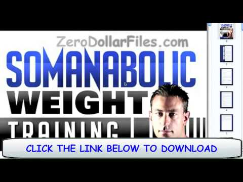 The Somanabolic Muscle Maximizer Pdf Full FREE!  Download it before link goes down..