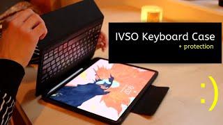 IVSO Keyboard Case + iPad Pro 2018
