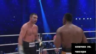 Виталий Кличко vs. Дерек Чисора (лучшие моменты)