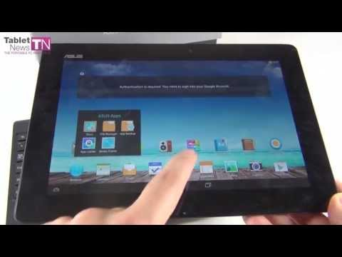 ASUS Transformer Pad TF701T Unboxing (Tegra 4) - Tablet-News.com