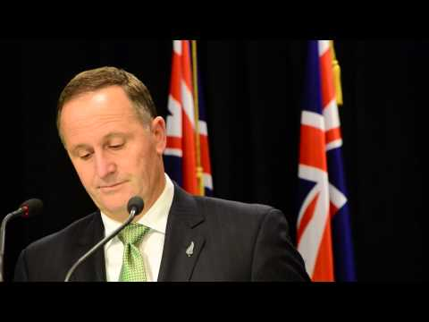 NZ PM John Key Walks Out While Facing Questions on #GCSB Bill From Scoop