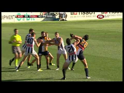 The Frenchman Finds Form - AFL - Smashpipe Sports Video