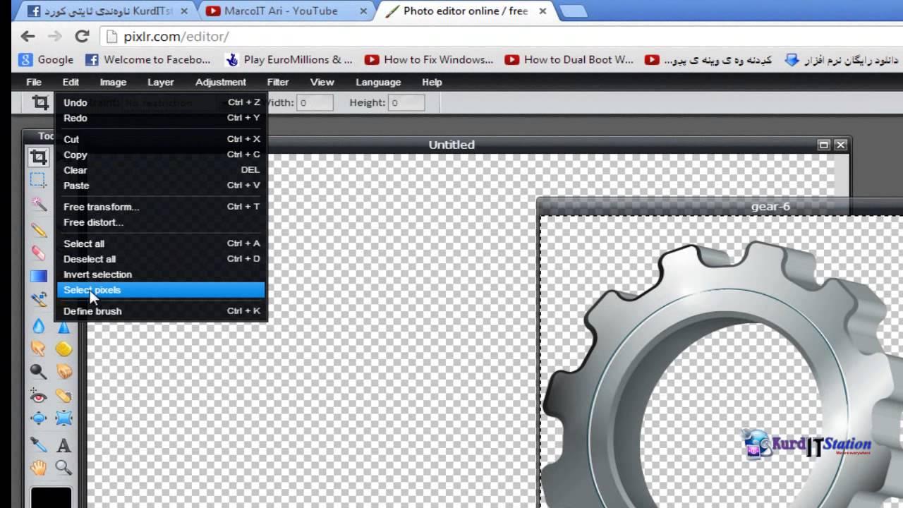 how to make logo pizlr