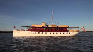 "Restoration of the 103' Mathis Trumpy fantail yacht ""Freedom"" -- McMillan Yachts - Short Version"