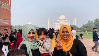 Taj Mahal | Kochi To Manali On Road Trip | Day - 7 | Mashura | Basheer Bashi | Suhana