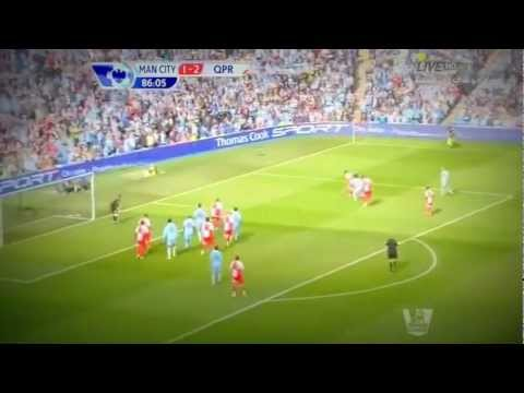 Last Crazy 10 Minutes Man City v. QPR - Faris Awad - Amazing!!