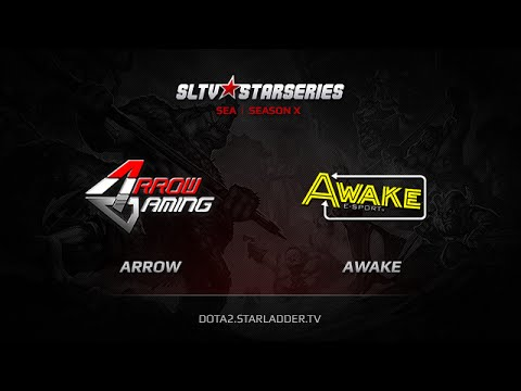 Arrow -vs- Awake, SLTV Sea Season X, Day 10, Game 2