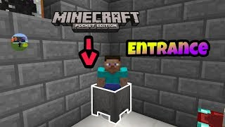 [MCPE] How to make a Secret Base inside Cauldron !!! [ NO MODS OR ADD-ONS ]