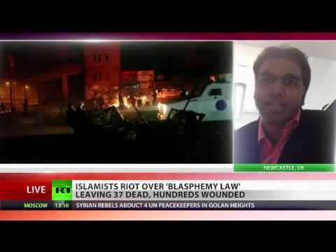 RT Tv Interview on 6 May Islamist Violence in Bangladesh