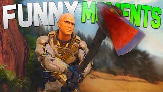 Black Ops 3 Funny Moments - Underwater Axe, Broken Xbox, Voice Impressions