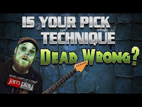 Do You Have DEAD WRONG picking technique?