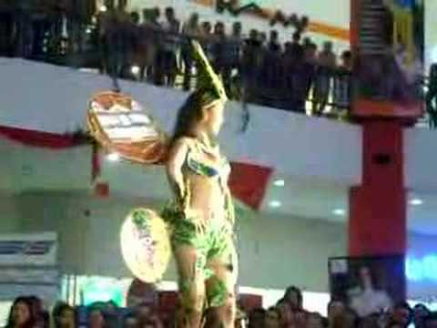 Miss Nicaragua 2008. Trajes Tipicos. Thelma