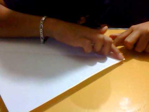 Como hacer un Vaso de Papel (Facil y Rapido)