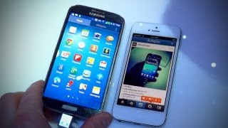 Galaxy S4 vs iPhone 5 vs Nexus 4
