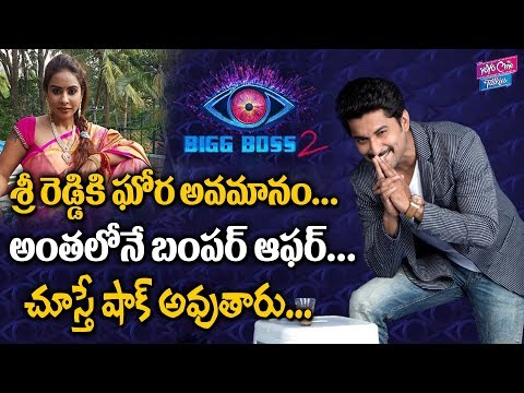 Sri Reddy Got Bumper Offer From Nani Bigg Boss 2 Telugu | Star Maa | Tollywood | YOYO Cine Talkies